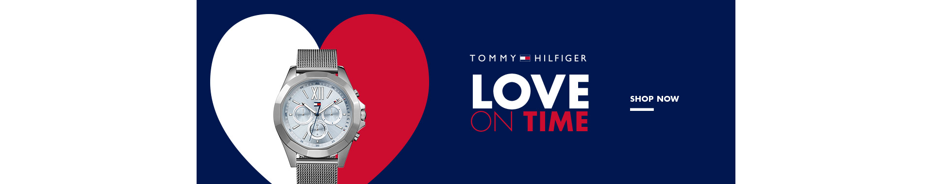 banner Tommy Love on time
