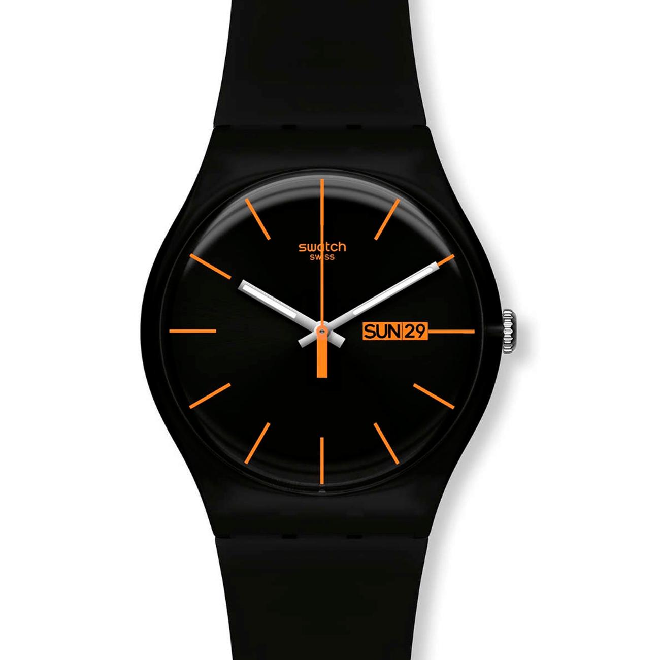 c9e550bc4428 Reloj Swatch Dark Rebel Hombre - Style Watch