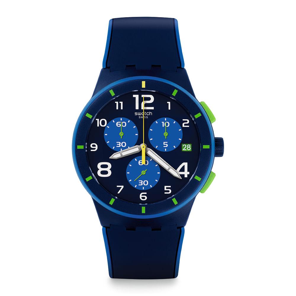 731941967697 Reloj Swatch Bleu Sur Bleu Hombre - Style Watch