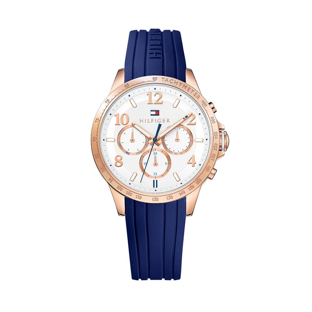 Relojes tommy hilfiger mujer azul