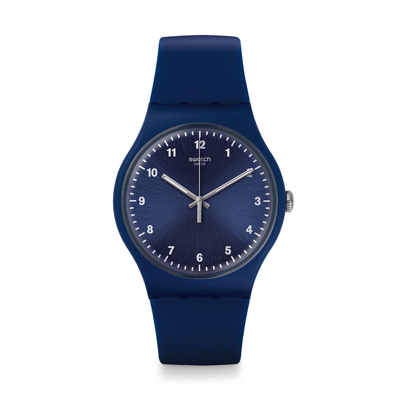 Blue Swatch Hombre Style Reloj Mono Watch UMpLqSzVG