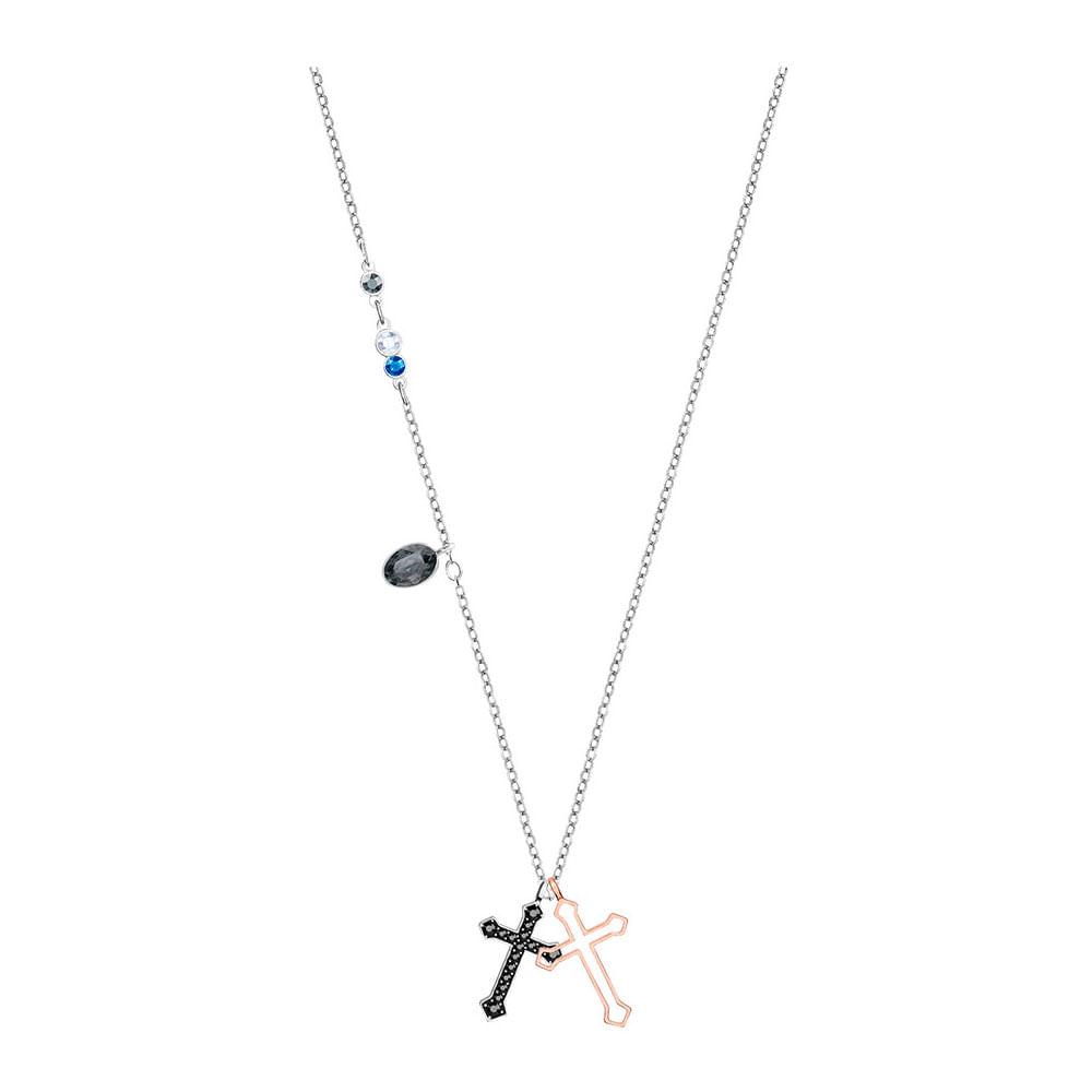 e6a1e4e87d4 Swarovski Colgante Duo Mini Cross - Style Watch