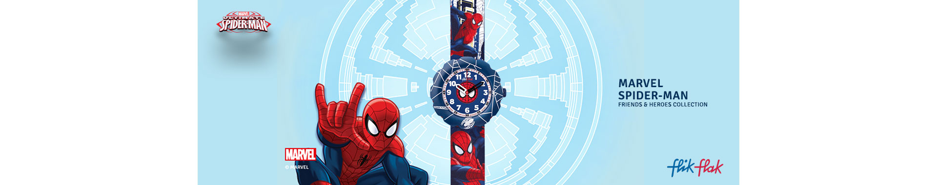 banner hombre araña