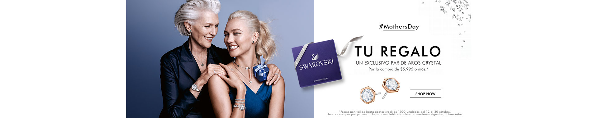 Banner mothersday swarovski